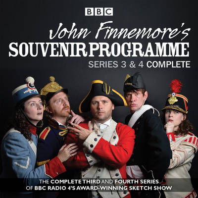 John Finnemore's Souvenir Programme: The Complete Series 3 & 4 (CD-Audio)