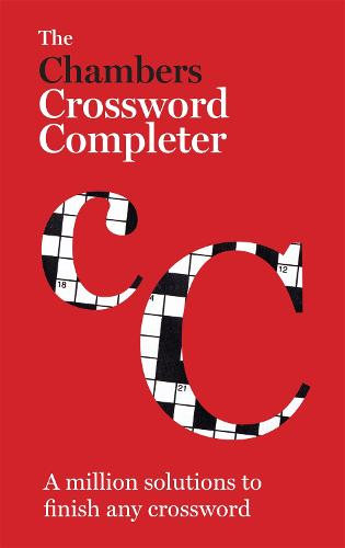The Chambers Crossword Completer - New Edition: Book (Hardback)