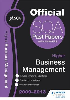 SQA Past Papers Higher Business Management 2013 (Paperback)
