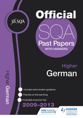 SQA Past Papers Higher German 2013 (Paperback)