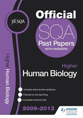 SQA Past Papers Higher Human Biology 2013 (Paperback)