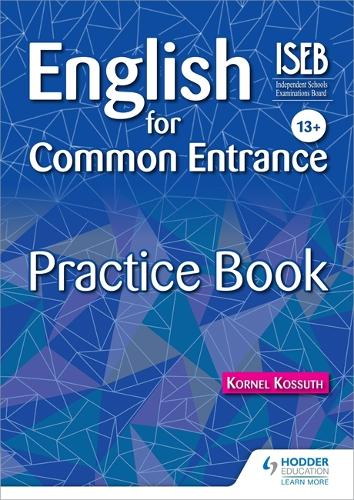 English for Common Entrance 13+ Practice Book (Paperback)