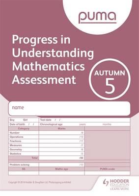 PUMA Test 5, Autumn - PUMA (Paperback)