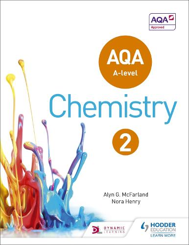 AQA A Level Chemistry Student Book 2 - AQA A level Science (Paperback)