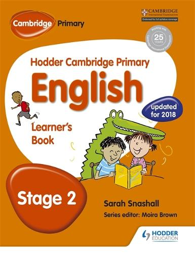 Hodder Cambridge Primary English: Learner's Book Stage 2 - Hodder Cambridge Primary English (Paperback)