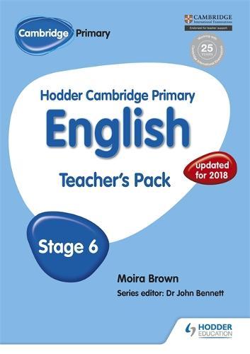 Hodder Cambridge Primary English: Teacher's Pack Stage 6 - Hodder Cambridge Primary English (Paperback)