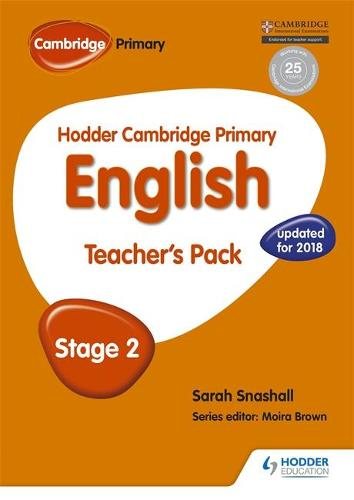 Hodder Cambridge Primary English: Teacher's Pack Stage 2 - Hodder Cambridge Primary English (Paperback)