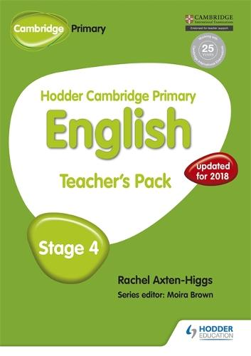 Hodder Cambridge Primary English: Teacher's Pack Stage 4 - Hodder Cambridge Primary English (Paperback)