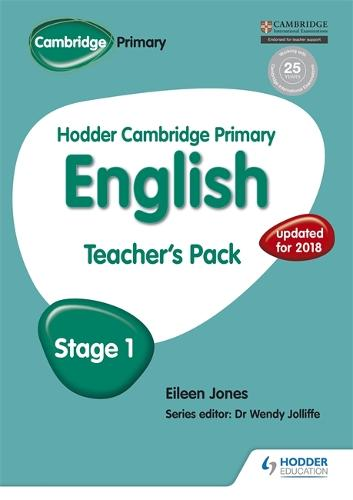 Hodder Cambridge Primary English: Teacher's Pack Stage 1 - Hodder Cambridge Primary English (Paperback)