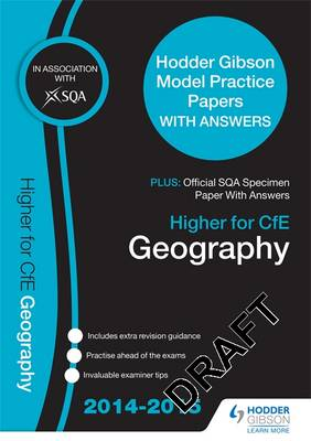 Higher Geography 2015/16 SQA Past Paper & Hodder Gibson Model Papers (Paperback)