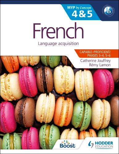 French for the IB MYP 4 & 5 (Phases 3-5): By Concept (Paperback)