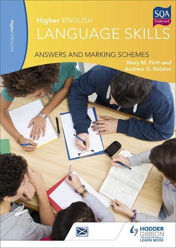 Higher English Language Skills: Answers and Marking Schemes (Paperback)
