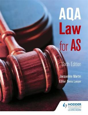 AQA Law for AS (Paperback)