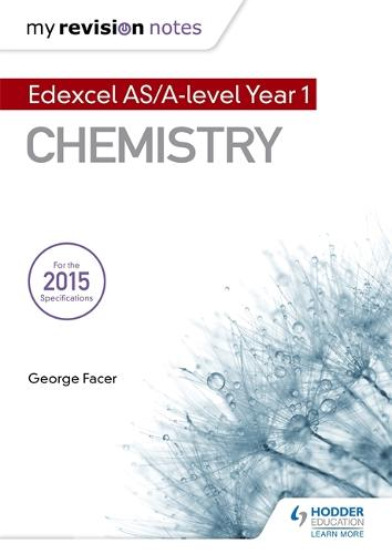 My Revision Notes: Edexcel AS Chemistry (Paperback)