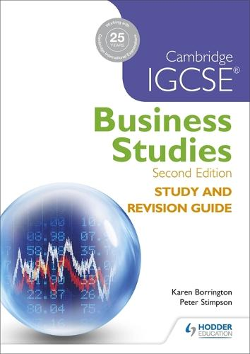 Cambridge IGCSE Business Studies Study and Revision Guide 2nd edition (Paperback)