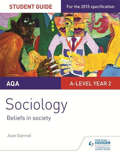AQA A-level Sociology Student Guide 4: Beliefs in society (Paperback)