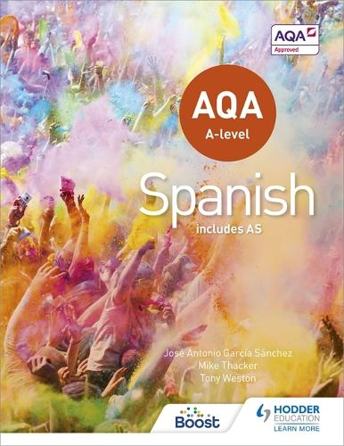 AQA A-level Spanish (includes AS) (Paperback)