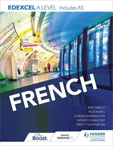 Edexcel A level French (includes AS) (Paperback)