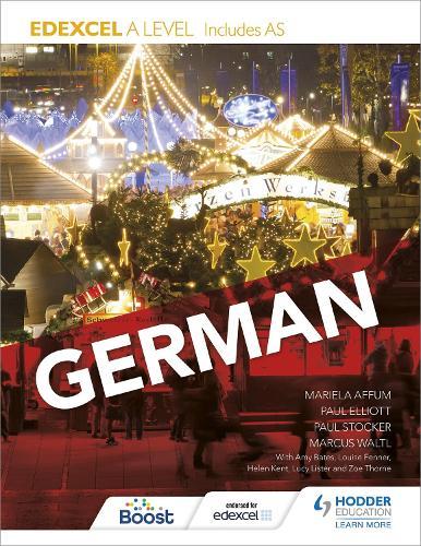 Edexcel A level German (includes AS) (Paperback)