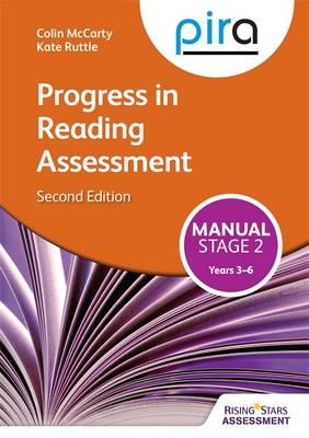 PIRA Stage Two (Tests 3-6) Manual: PIRA stage two (tests 3-6) manual - PiRA (Paperback)