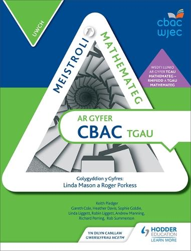 Meistroli Mathemateg CBAC TGAU: Uwch (Mastering Mathematics for WJEC GCSE: Higher Welsh-language edition) (Paperback)