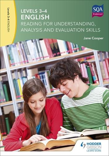 Levels 3-4 English: Reading for Understanding, Analysis and Evaluation Skills (Paperback)