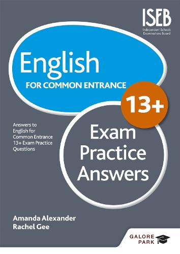 English for Common Entrance at 13+ Exam Practice Answers (Paperback)