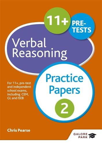 11+ Verbal Reasoning Practice Papers 2: For 11+, pre-test and independent school exams including CEM, GL and ISEB (Paperback)
