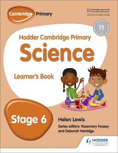 Hodder Cambridge Primary Science Learner's book 6 (Paperback)