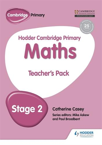 Hodder Cambridge Primary Maths Teacher's Pack 2 - Hodder Cambridge Primary Science (Paperback)