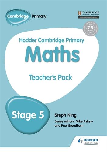 Hodder Cambridge Primary Maths Teacher's Pack 5 - Hodder Cambridge Primary Science (Paperback)