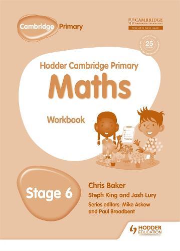 Hodder Cambridge Primary Maths Workbook 6 - Hodder Cambridge Primary Science (Paperback)