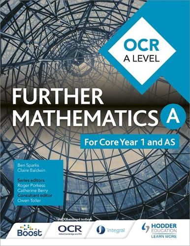 OCR A Level Further Mathematics Core Year 1 (AS) (Paperback)