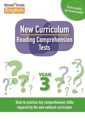 New Curriculum Reading Comprehension Tests Year 3 - Reading Comprehension Tests (Paperback)