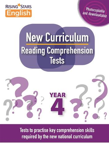 New Curriculum Reading Comprehension Tests Year 4 - Reading Comprehension Tests (Paperback)