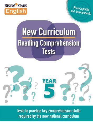 New Curriculum Reading Comprehension Tests Year 5 - Reading Comprehension Tests (Paperback)