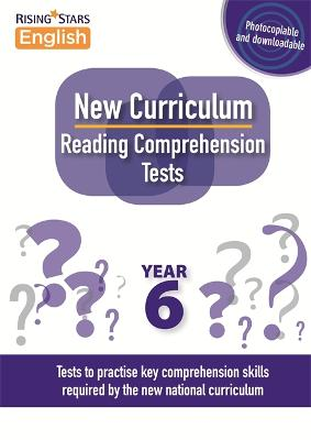 New Curriculum Reading Comprehension Tests Year 6 - Reading Comprehension Tests (Paperback)