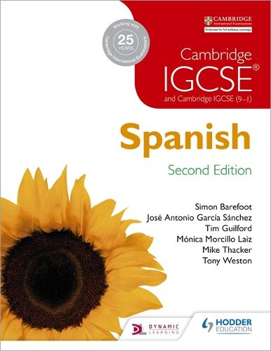 Cambridge IGCSE (R) Spanish Student Book Second Edition (Paperback)