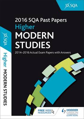 Higher Modern Studies 2016-17 SQA Past Papers with Answers (Paperback)