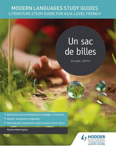 Modern Languages Study Guides: Un sac de billes: Literature Study Guide for AS/A-level French - Film and literature guides (Paperback)