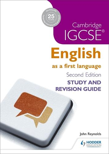 Cambridge IGCSE English First Language Study and Revision Guide - IGCSE Study Guides (Paperback)