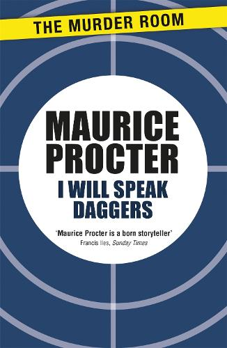 I Will Speak Daggers - Murder Room (Paperback)