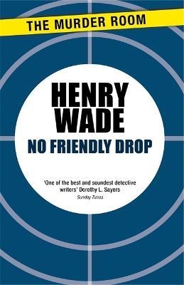 No Friendly Drop - Inspector Poole Series (Paperback)