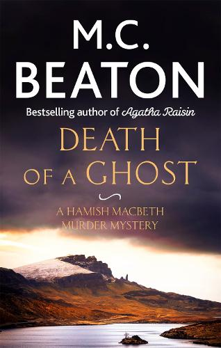 Death of a Ghost - Hamish Macbeth (Paperback)