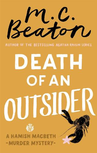 Death of an Outsider - Hamish Macbeth (Paperback)