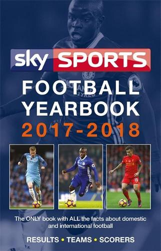 Sky Sports Football Yearbook 2017-2018 (Paperback)