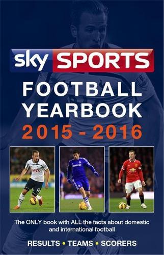 Sky Sports Football Yearbook 2015-2016 (Hardback)