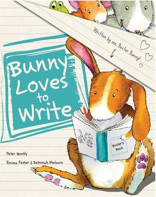 Bunny Loves to Write (Picture Story Book) (Paperback)
