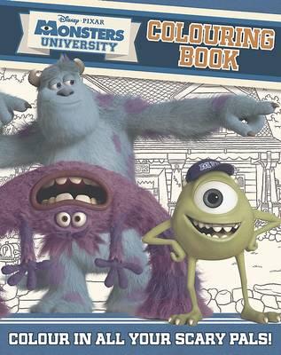Disney Monsters University Colouring Book (Paperback)