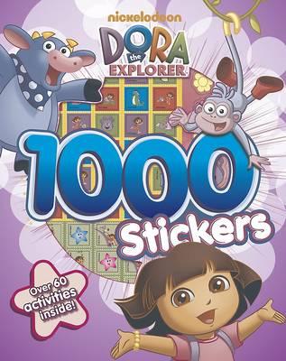 Dora the Explorer 1000 Sticker Book (Paperback)